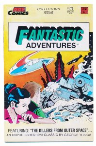 Fantastic Adventures (1987 Ace) #1-3 FN/VF Complete series