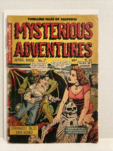 Mysterious Adventures #7 1952 pre-code horror Dagger in the eye