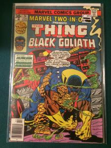 Marvel Two-In-One Presents #24 The Thing and Black Goliath