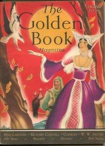 Golden Book 11/1930-Bedsheet format pulp magazine-W. Stuart Leech-Ring Lardne...