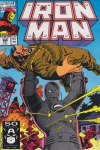 Iron Man (1968 series) #268, VF+ (Stock photo)