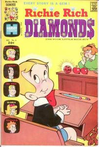 RICHIE RICH DIAMONDS (1972-1982) 9 F Dec. 1973 COMICS BOOK