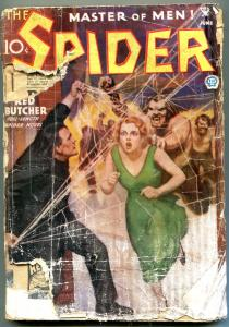 The Spider Pulp June 1935- Hordes of the Red Butcher- Bargain copy