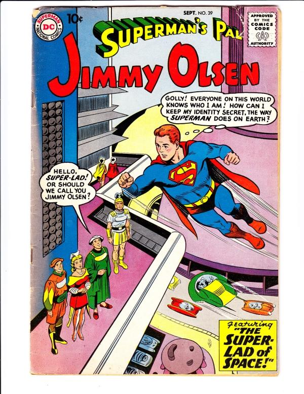 Superman's Pal Jimmy Olsen #39 (Sep-59) VG/FN Mid-Grade Jimmy Olsen