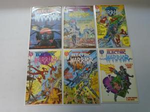 Electric Warrior set #1-18 8.0 VF (1986)