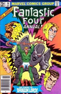 Fantastic Four (1961 series) Annual #16, Fine (Stock photo)