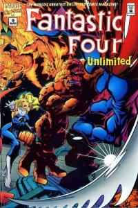 Fantastic Four Unlimited #9, VF- (Stock photo)