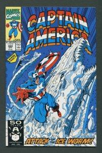 Captain America #384 / 9.2 NM-  April 1991