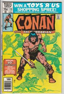 Conan the Barbarian #115 (Oct-80) NM- High-Grade Conan the Barbarian