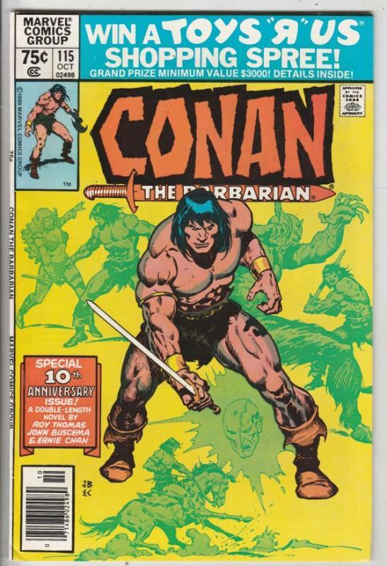 Conan the Barbarian #115 (Oct-80) NM- High-Grade Conan the Barbarian