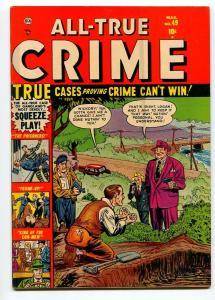 ALL TRUE CRIME #49 1953-ATLAS-BERNIE KRIGSTEIN-JACK KELLER-VF-