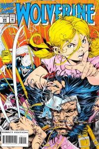Wolverine (1988 series) #84, NM- (Stock photo)