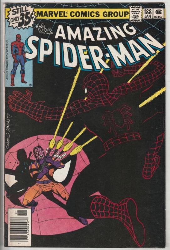 Amazing Spider-Man #188 (Mar-79) VF+ High-Grade Spider-Man