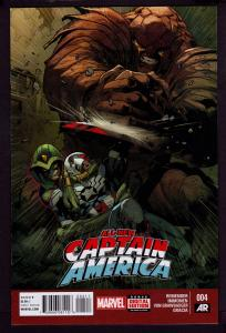 Captain America All New #4 (2015 Series)   9.4 NM