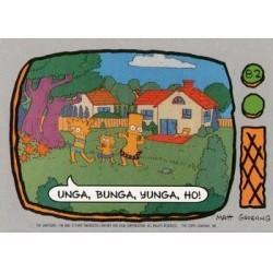 1990 Topps The Simpsons - UNGA, BUNGA, YUNGA, HO! #82