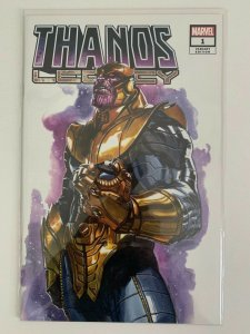 Thanos Legacy #1 Dell'Otto Variant Unknown Comic & Infinity Wars Prime # 1 NM