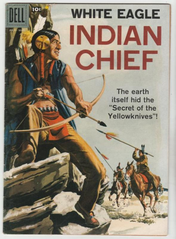 Indian Chief #31 (Jul-58) VF High-Grade White Eagle