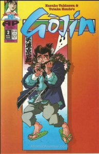 Gojin #3 VF/NM; Antarctic | save on shipping - details inside