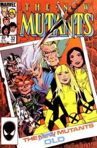 New Mutants (1983 series) #32, NM- (Stock photo)