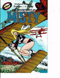Lot Of 2 Comic Books Adventures of Misty #5 and New Mr T T-Force #1  MS12