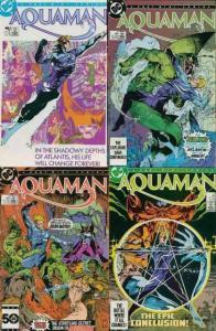 AQUAMAN (1986 MINI) 1-4 the 'King of the Sea' returns!