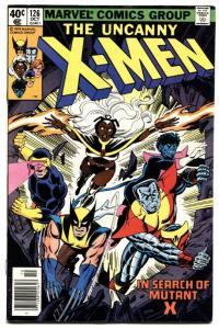 X-MEN #126 comic book--MARVEL BRONZE AGE comic