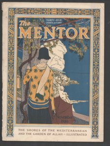Mentor 11/1926-Crowell-Cover art by Howard McCormick-Was Percy Shelley Murder...