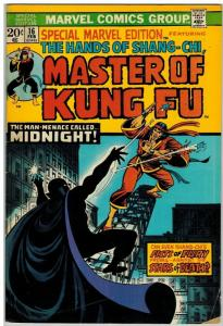MASTER OF KUNG FU 16 VG Feb. 1974 COMICS BOOK