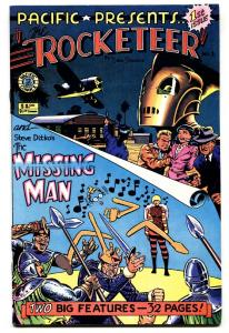 PACIFIC PRESENTS THE ROCKETEER #1-BETTIE PAGE-DAVE STEVENS NM-