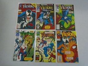 Venom Lethal Protector set #1-6 8.5 VF+ (1993)