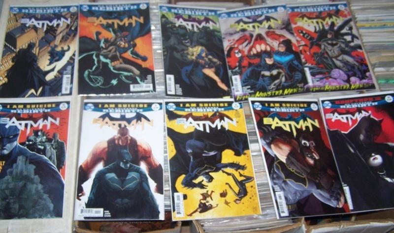 Batman #4 5 6 7 8 9 10 11 12 13 14  2016, DC UNIVERSE REBIRTH