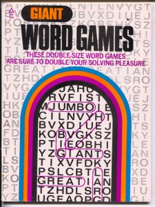 Giant Word Games #1 1973-Popular Library-1st issue-word games with movie star...