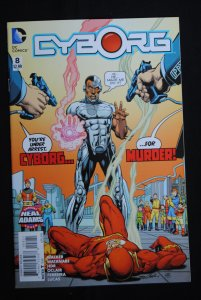 Cyborg #8, Great Neal Adams Cover, NM