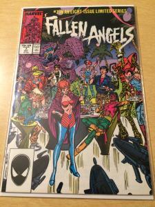 Fallen Angels #7 New Mutants tie in