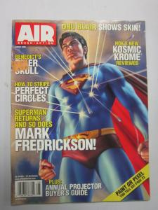 Airbrush Action - July/august 2006 Superman