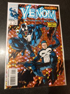 VENOM FUNERAL PYRE #1 THE PUNISHER