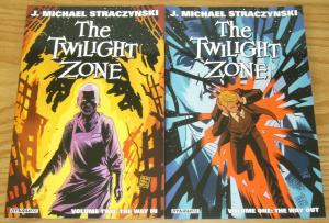 Twilight Zone TPB vol. 1 & 2 VF/NM dynamite set lot straczynski ($31.98 value)