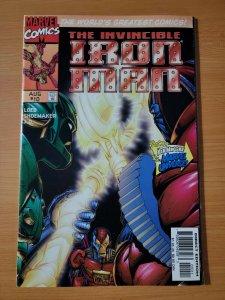 Iron Man Vol 2 #10 ~ NEAR MINT NM ~ 1997 Marvel Comics