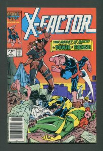 X-Factor #4 /  8.0 VFN  Newsstand  May 1986 (C)