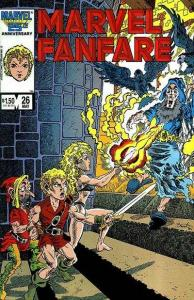 Marvel Fanfare (1982 series) #26, NM (Stock photo)