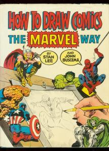 How To Draw Comics The Marvel Way Hardcover 1978- Romita- Buscema
