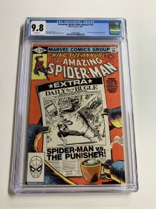 Amazing Spider-man Annual 15 Cgc 9.8 White Pages Frank Miller Punisher
