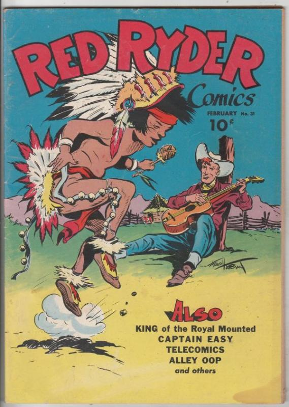 Red Ryder Comics #31 (Feb-46) VG/FN Mid-Grade Red Ryder