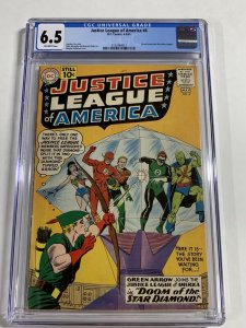 Justice League Of America 4 Cgc 6.5 Ow Pages Silver Age Dc Comics