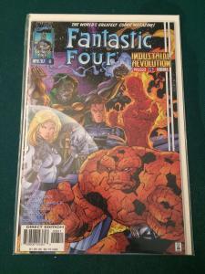 Fantastic Four #6 vol 2 Heroes Reborn NM-M