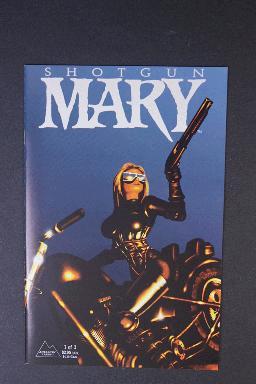 Shotgun Mary #1 Sept 1995. Herb Mallette, Antaractic Press