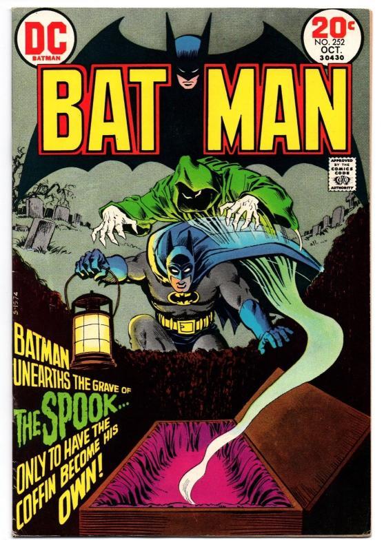 Batman #252 (Oct 1973, DC) - Very Fine/Very Fine-
