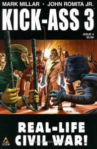 Kick-Ass 3 #4 VF; Icon | save on shipping - details inside