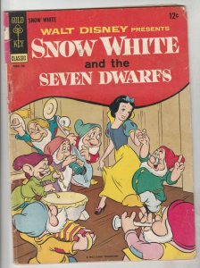 Four Color #382 (Sep-67) VG Mid-High-Grade Snow White and the Seven Dwarfs