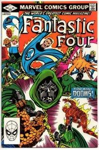 FANTASTIC FOUR #246, VF+, Dr Doom, Byrne, 1961 1982, more Marvel in store